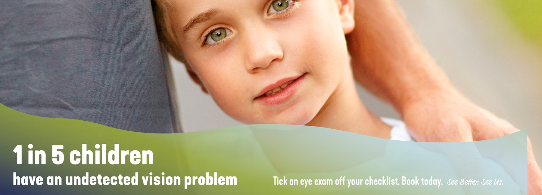 Childrens Vision Optometrist 1 in 5 With Undetected Problems