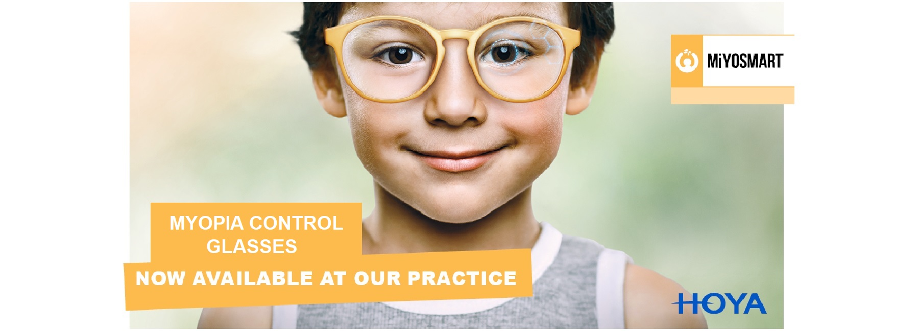 Myopia Control Glasses Now Available