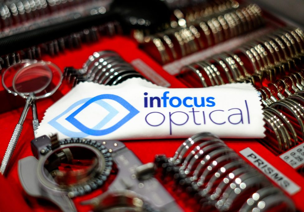 InFocus Optical Optometrist Trial Lenses Eye Testing